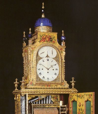 Shaftesbury organ clock, London
