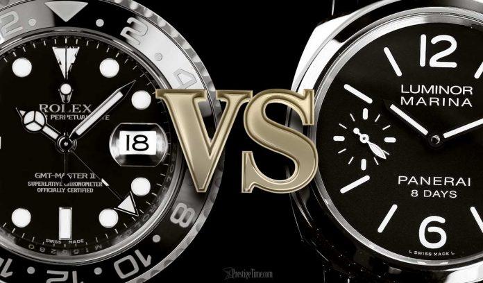 Rolex-VS-Panerai-Watches